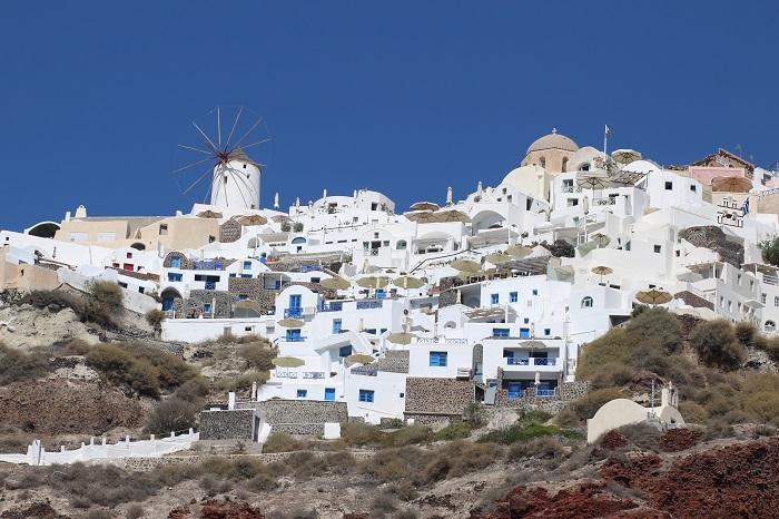 carnet de voyage Santorin Grèce