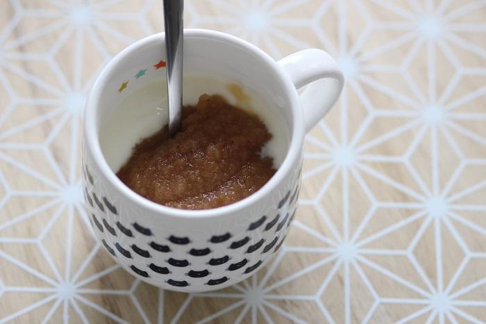 Photo de la compote dessert proposée dans la cure minceur Dietbon