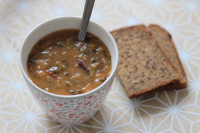 Photo d'une soupe minceur proposée par le régime Dietbon
