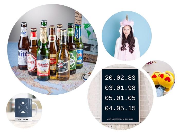 Une sélection de cadeaux homme pour la Saint Valentin : poster, bières, tasse et chaussons