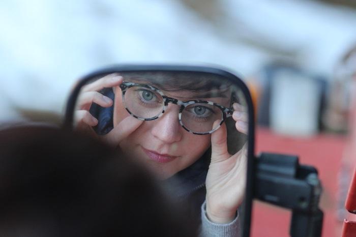Photo d'une paire de lunettes de vue L'usine à Lunettes by Polette